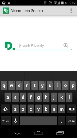 Disconnect offers private search on Android, web - Liliputing