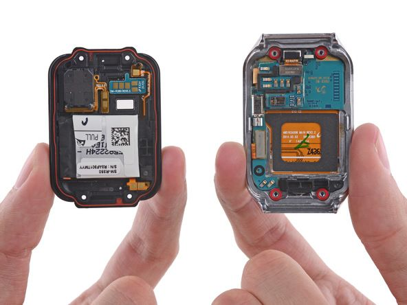 Samsung Gear 2 teardown