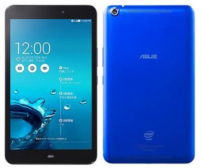 asus memo pad 8 front and back