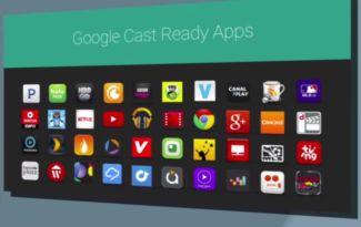 google cast ready apps