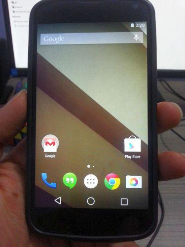 android l nexus 4