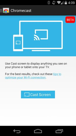 Chromecast screen mirroring for any (rooted) Android device