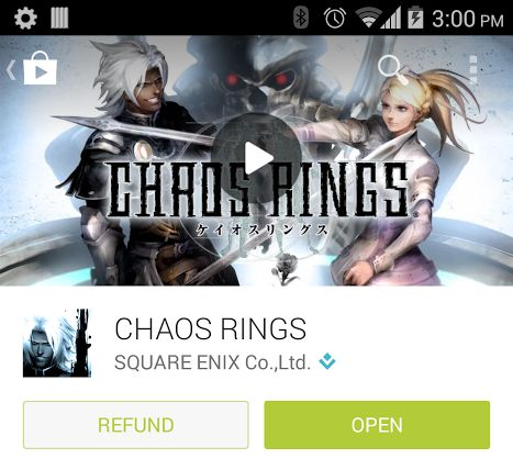 chaos refund