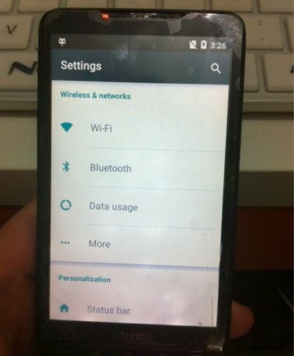 HTC HD2 with Android 5.0