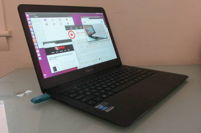 Ubuntu on the Asus Zenbook UX305 ultrabook - Liliputing