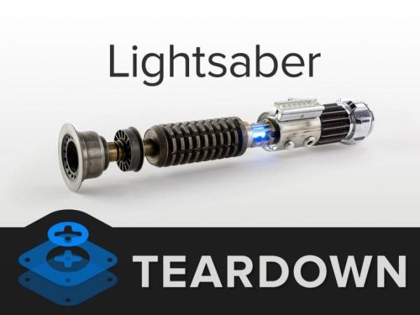 ifixit lightsaber teardown