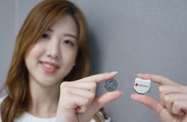 LG Chem hexagonal battery