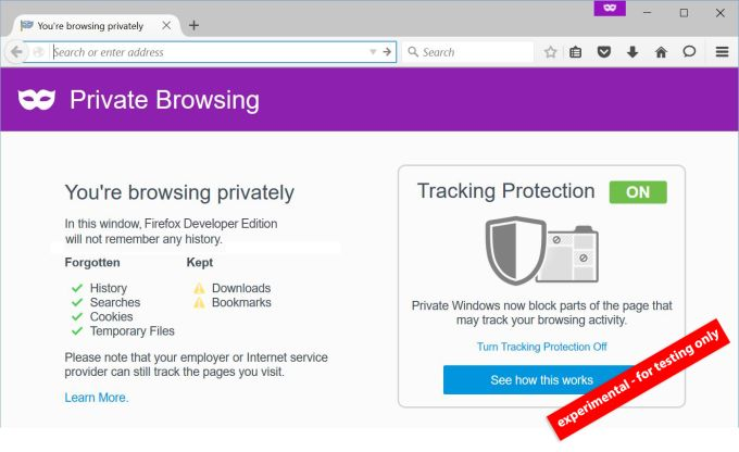 firefox more private