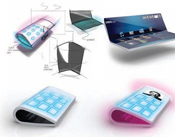 LG Paper Touch design concept from Leif Erickson