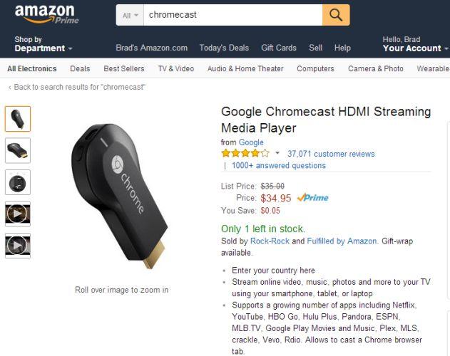 chromecast amz