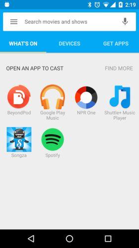 Chromecast Audio review - Liliputing