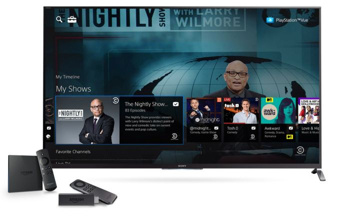 playstation vue fire tv