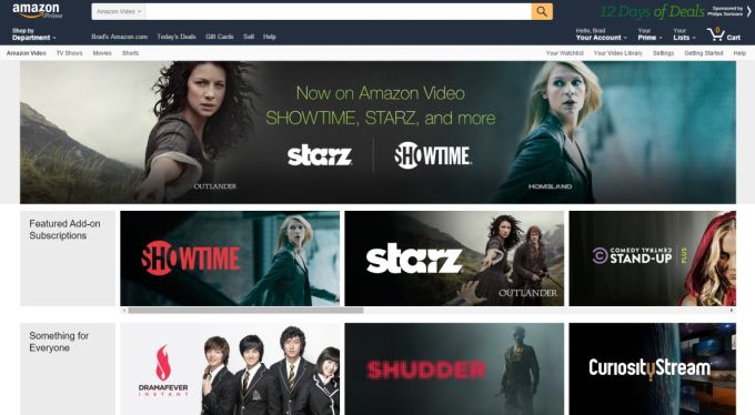 amazon showtime
