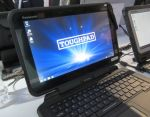 Panasonic ToughPad FZ-Q1 is a 12.5 inch semi-rugged Windows tablet for $1000 and up