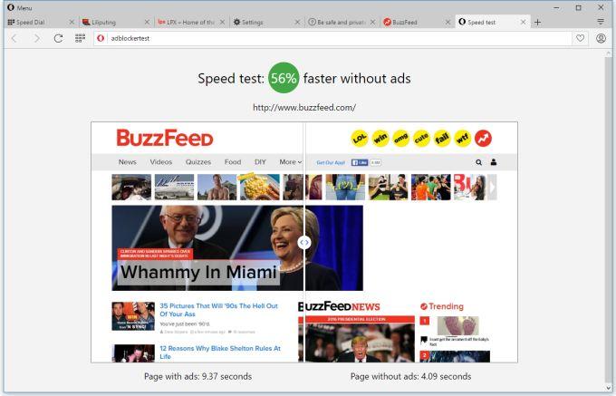opera without ads