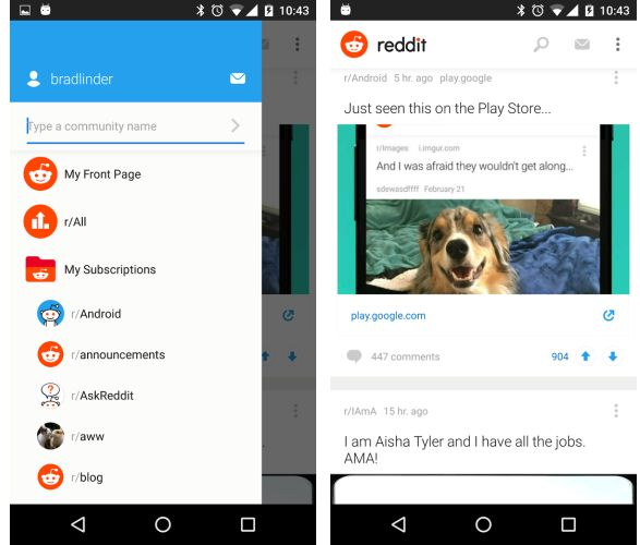 reddit android