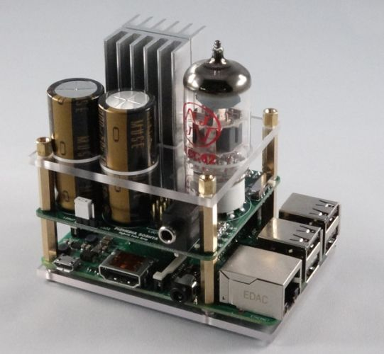 Clearly your Raspberry Pi needs a tube amp (crowdfunding