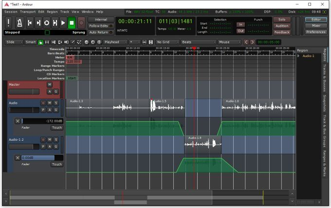 Open source audio editor Ardour 5 0 launches for Linux, OS X