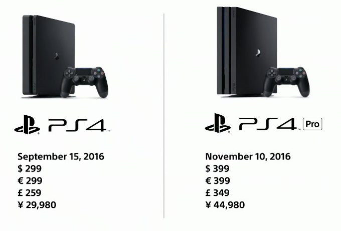 Sony launches slimmer PS4 for $299 and PS4 Pro with 4K/HDR support