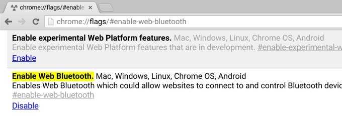 web-bluetooth