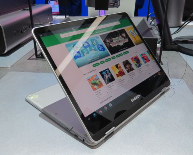 Hands-on with the Samsung Chromebook Plus convertible Chromebook