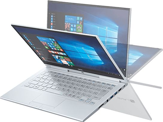 NEC LaVie Hybrid Zero notebook loses weight: now starts at