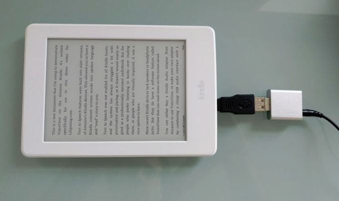 Video Make Your Own Kindle Audio Adapter For Text To Speech