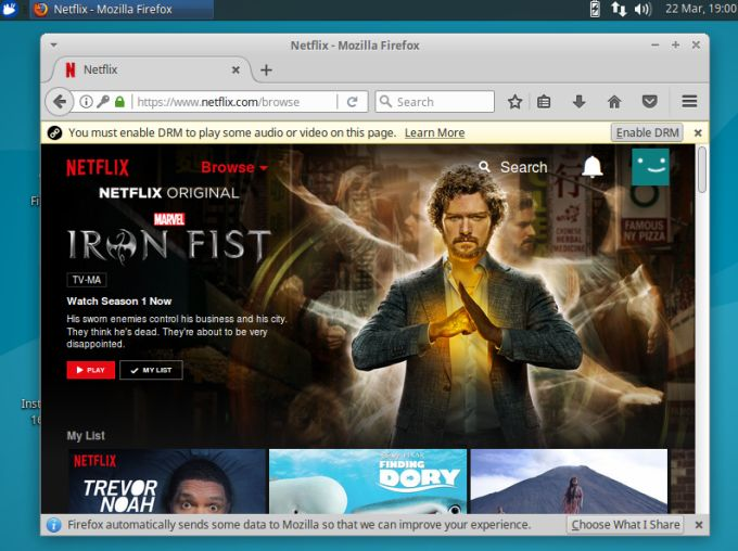 Linux users can now stream Netflix in Firefox - Liliputing