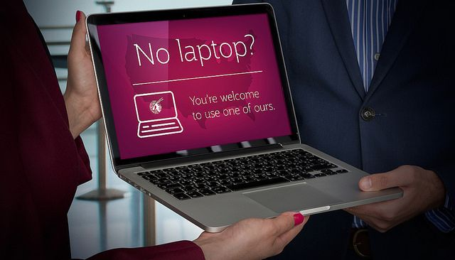 Can't take your laptop on an international flight? Qatar Airways will loan you one