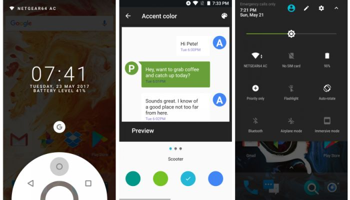 Paranoid Android is back with an Android 7 1 2 ROM - Liliputing