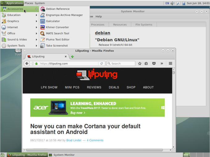 Debian 9 Stretch operating system released - Liliputing