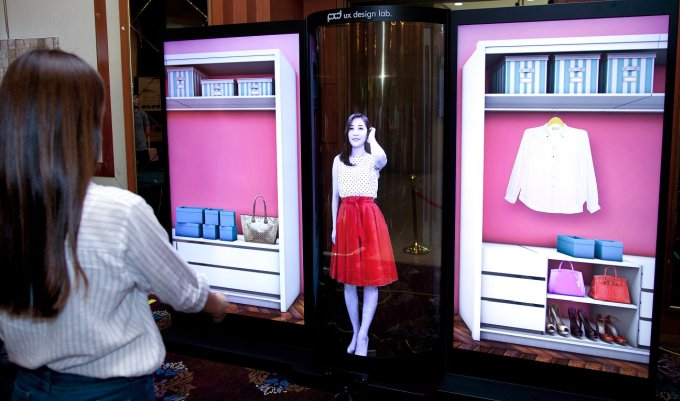 LG introduces 77 inch flexible, transparent OLED display