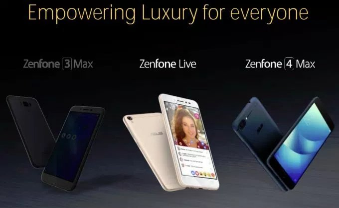 Asus Zenfone 4, 4v, 4 Max names leaked (by Google)