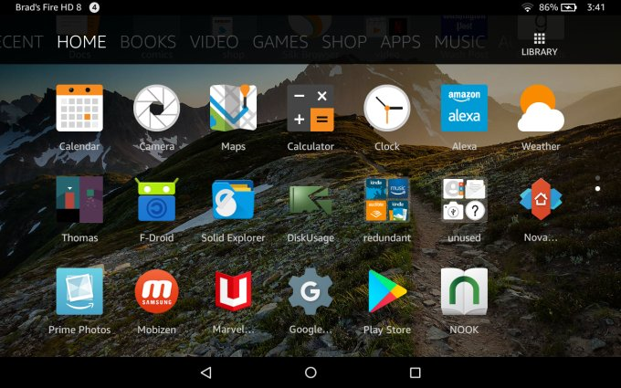 launcher for kindle fire hdx