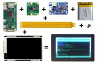 Noodle Pi is a DIY pocket computer kit with Raspberry Pi brains (crowdfunding)