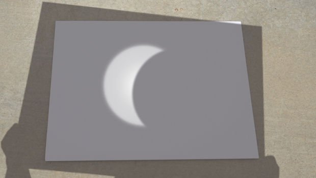 Image result for pinhole camera solar eclipse