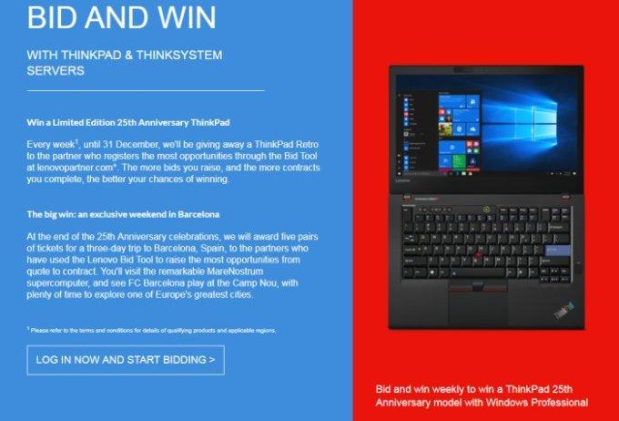 Is this the Lenovo ThinkPad 25th anniversary edition