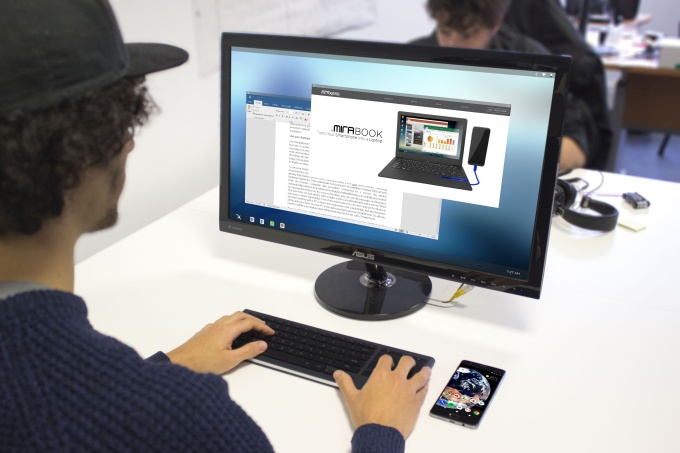 Miraxess wants to turn your Android phone into a desktop PC - Liliputing