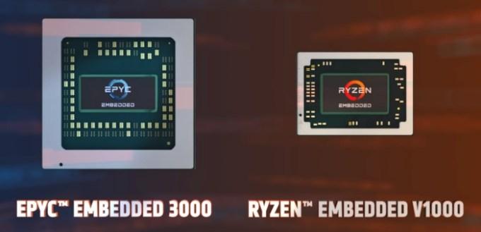 AMD launches Ryzen Embedded V1000, EPYC Embedded 3000 chips - Liliputing