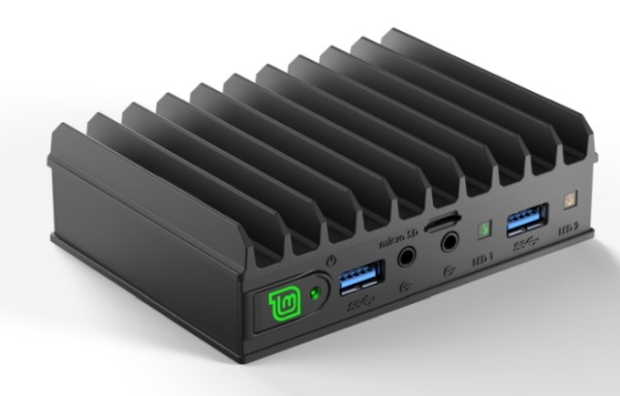 Mintbox Mini 2: Compact Linux desktop with Apollo Lake quad-core CPU