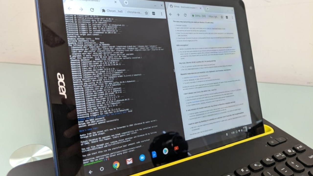 How to enable developer mode on a Chrome OS tablet (and