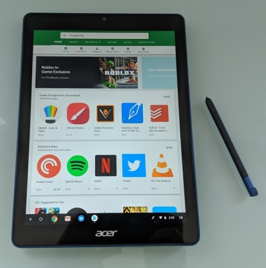 The first Chrome OS tablet is now available for $330 and up