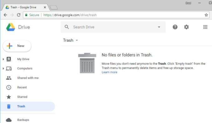 How to delete the photos from google drive