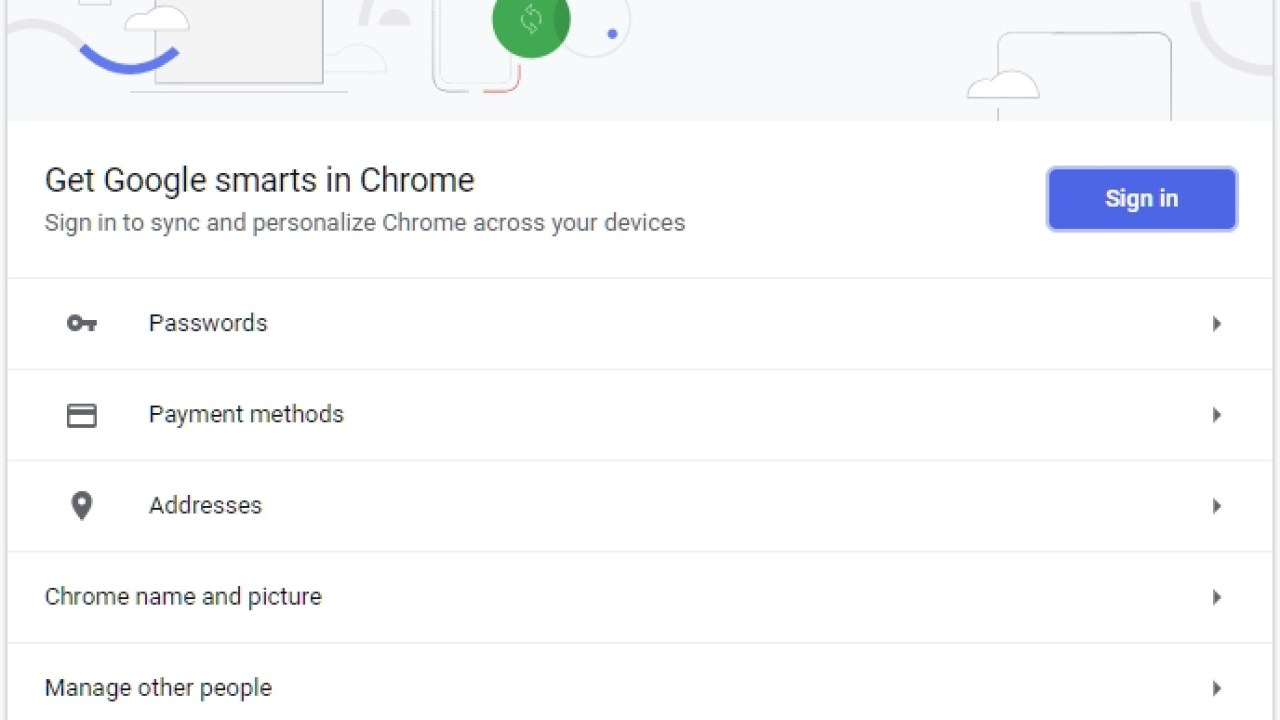Update: Chrome 69 does not automatically sync your data