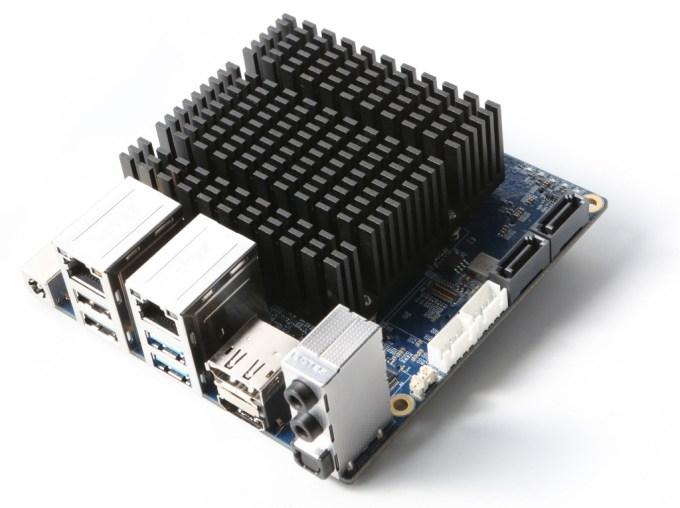 ODROID-H2 mini PC board with Celeron J4105 Gemini Lake CPU