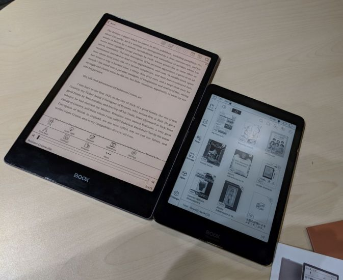 Onyx is launching two new E Ink devices with Wacom pen support