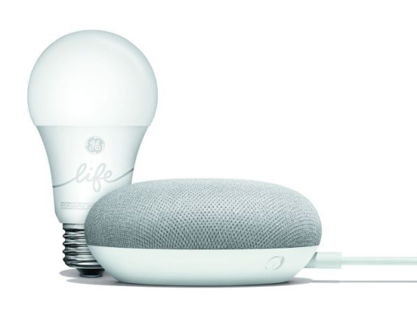 Google Home Mini smart light kit