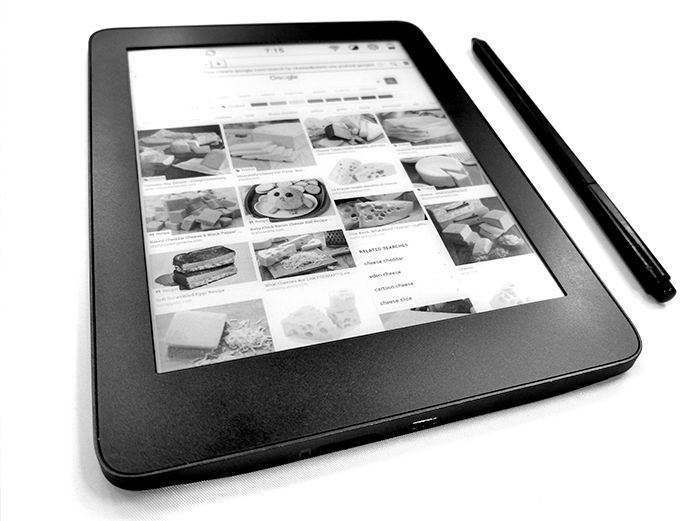 MobiScribe 6.8 inch E Ink slate + stylus hits Indiegogo for $199 and up