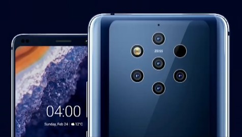 Nokia 9 PureView is the first smartphone with 5 rear cameras