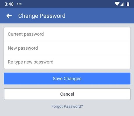 Now's as good a time as any to change your Facebook password